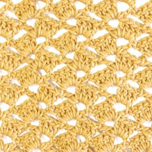 diagonal lace stitch free crochet pattern