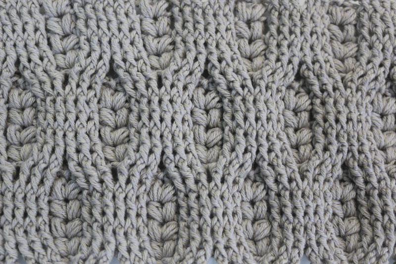 wheat stitch crochet free pattern