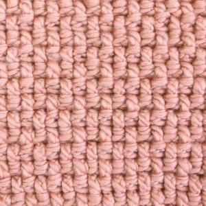 seed stittch mini basketwave crochet free pattern