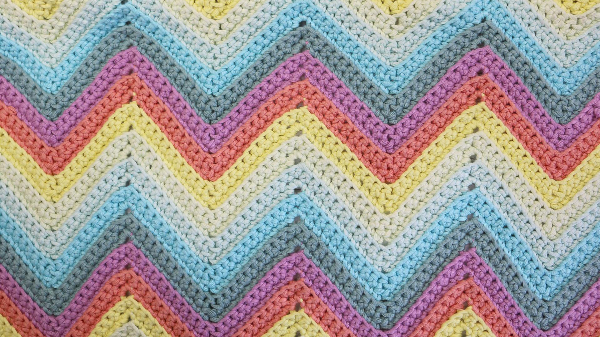 chevron stithc single crochet free pattern