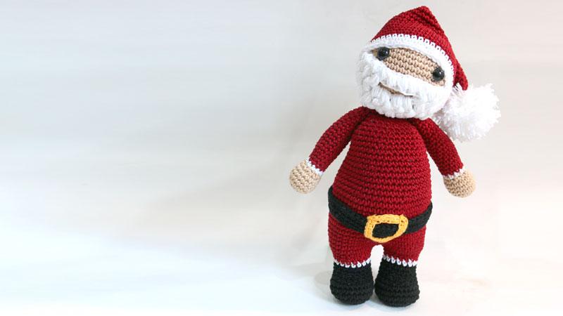 santa claus amigurumi free pattern crochet