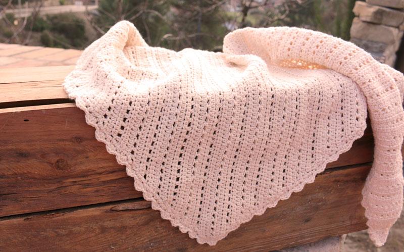 vintage crochet shawl free pattern