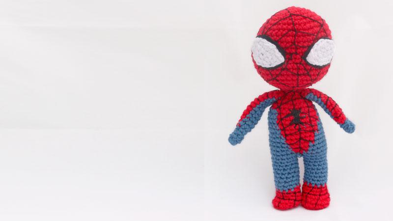 spiderman crochet amigurumi marvel free pattern