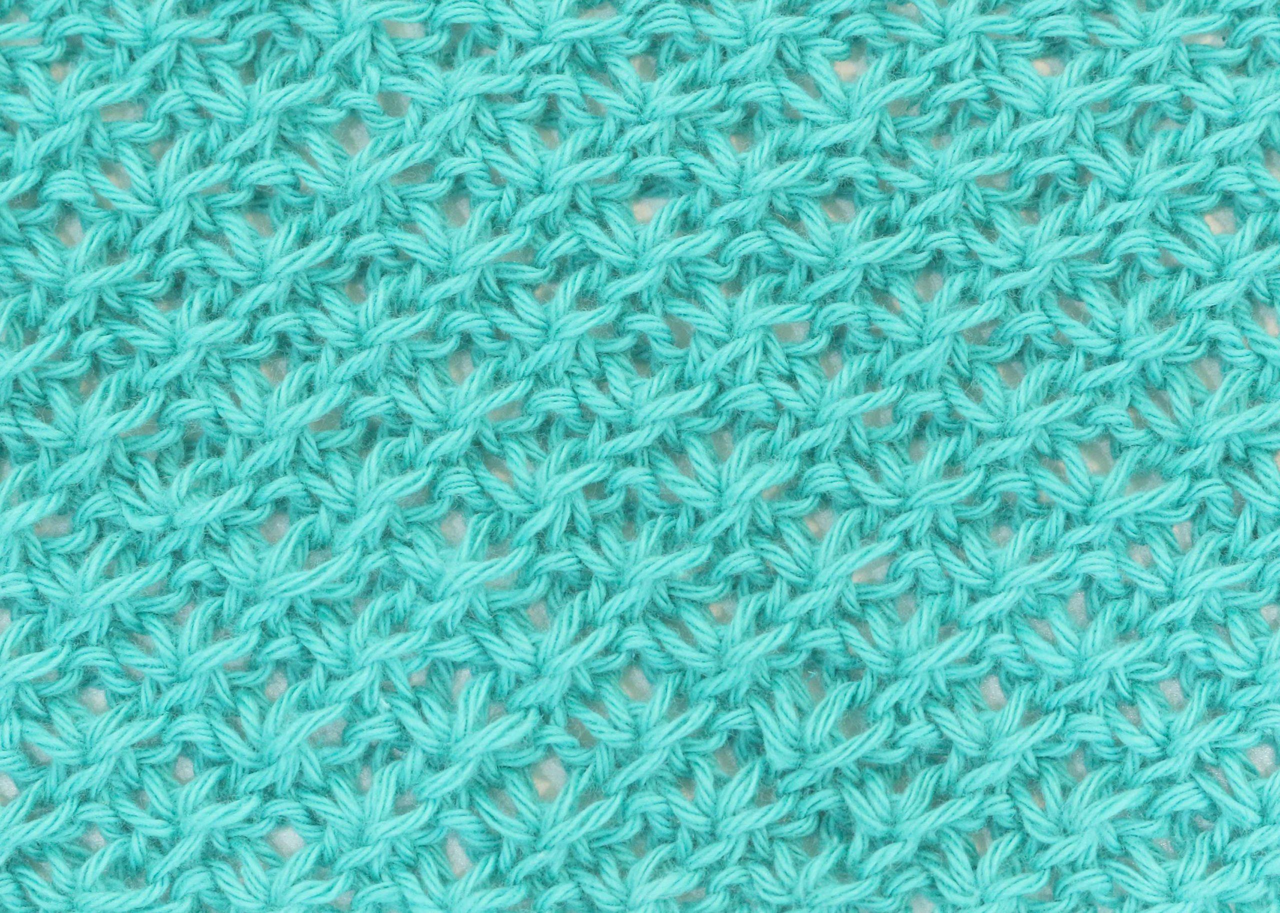 star stitch free knitting pattern