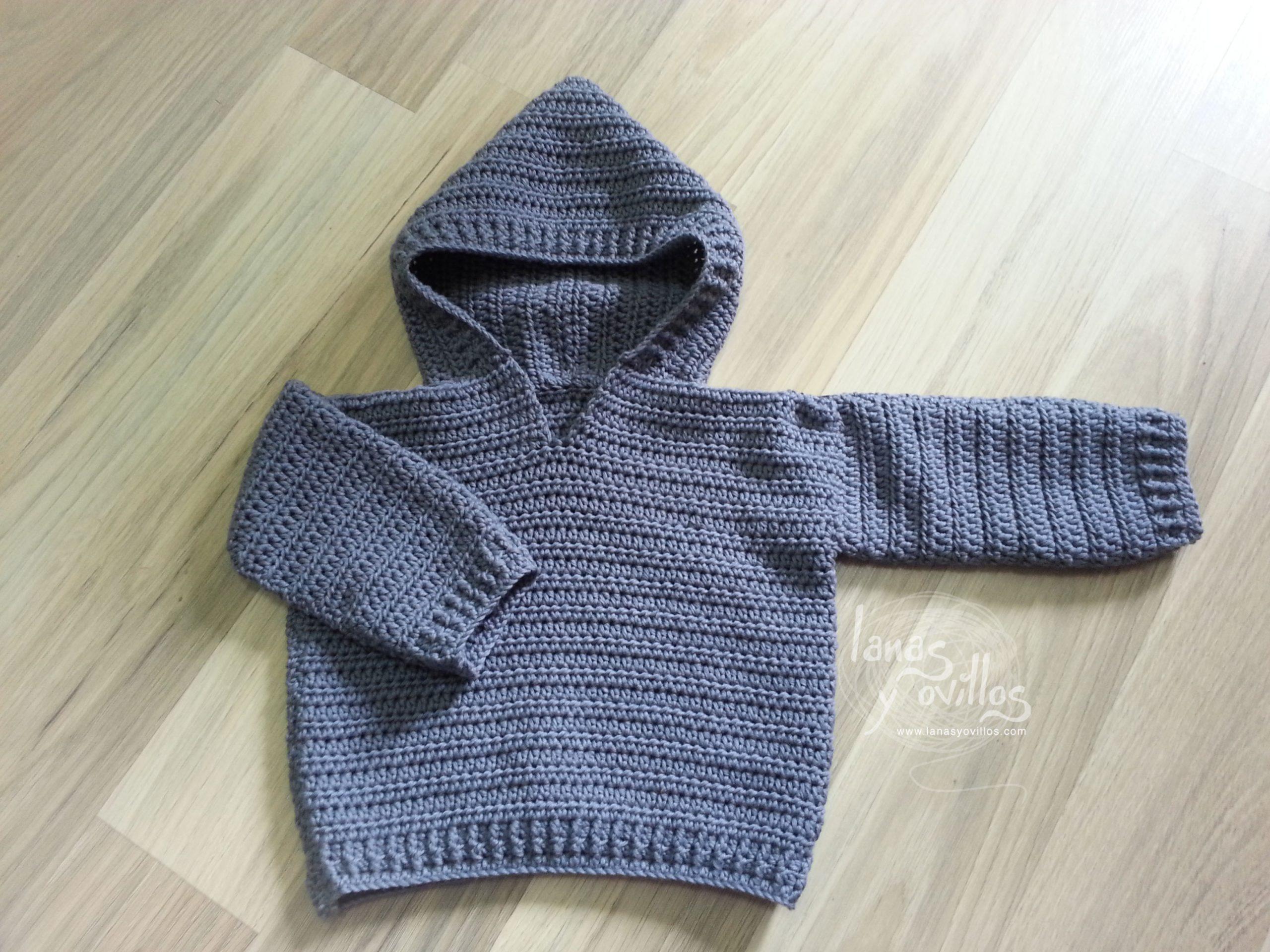 baby sweater crochet free pattern