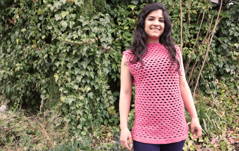 free crochet blouse lace top free pattern