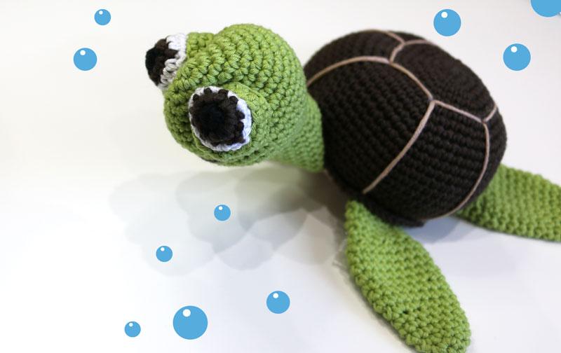 big turtoise turtle amigurumi free pattern crochet