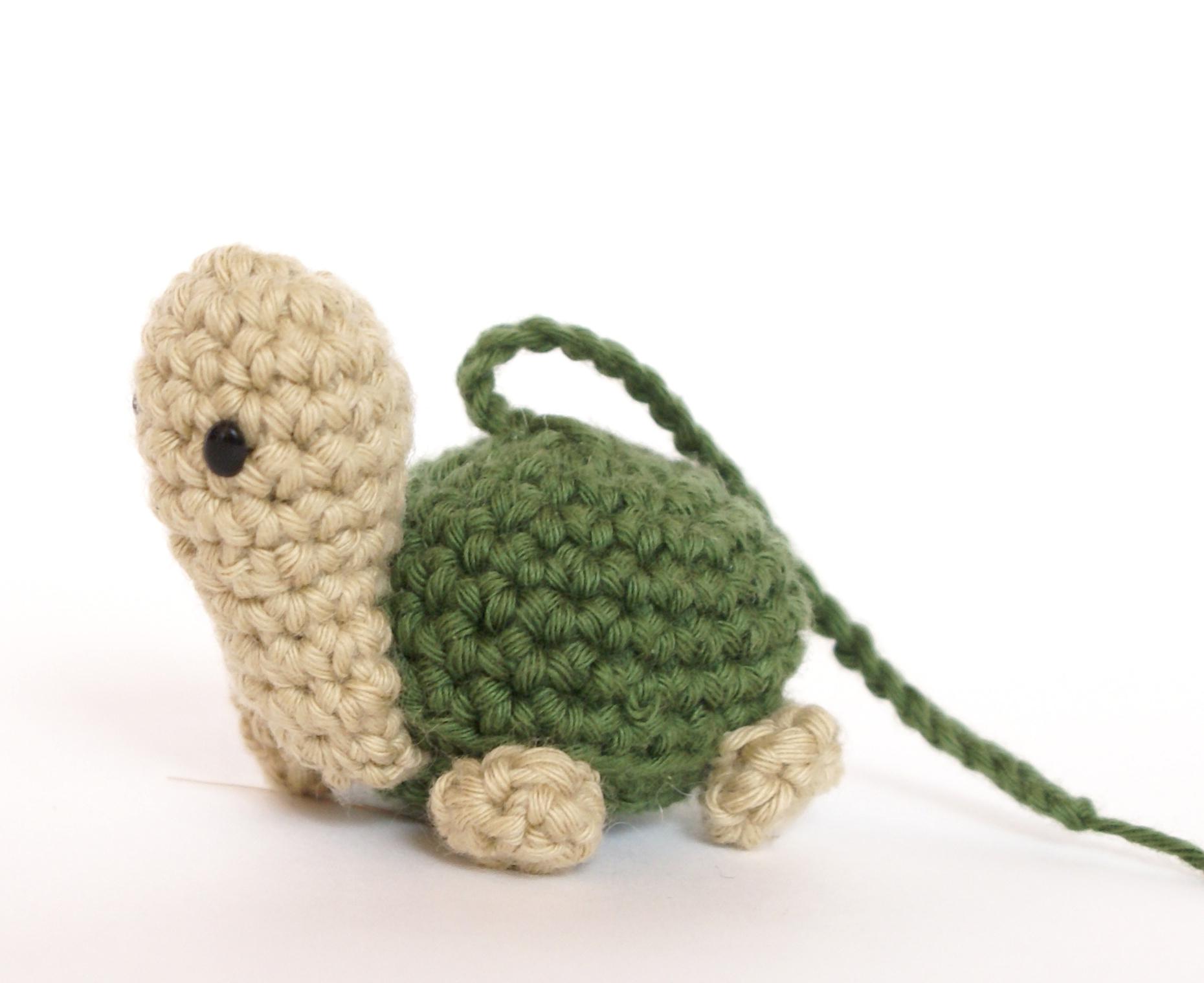 turtle tortoise amigurumi crochet free pattern with video tutorial
