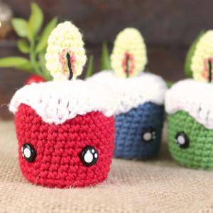 tiny candles crochet free pattern christmas