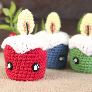 tiny candle crochet amigurumi free pattern crochet