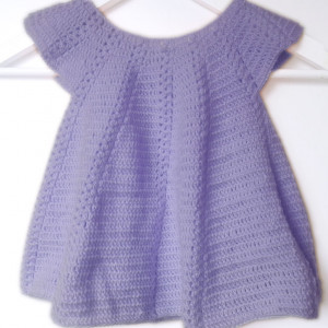 baby girl crochet dress free pattern