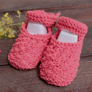 baby knitting shoes slippers free knitting pattern