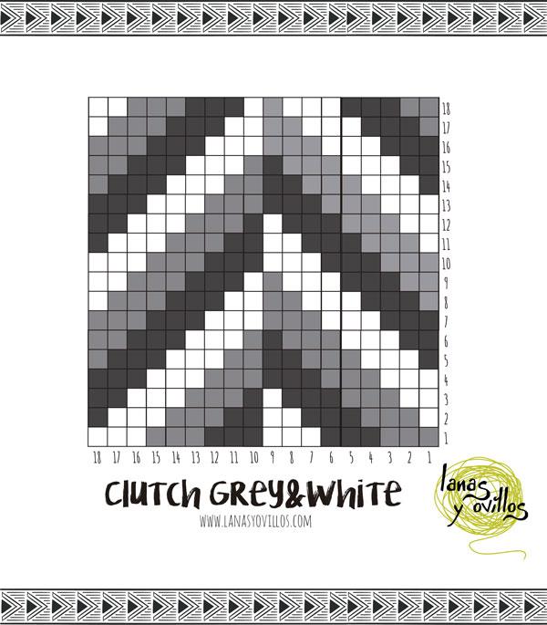 tapestry crochet clutch free pattern patron gratis