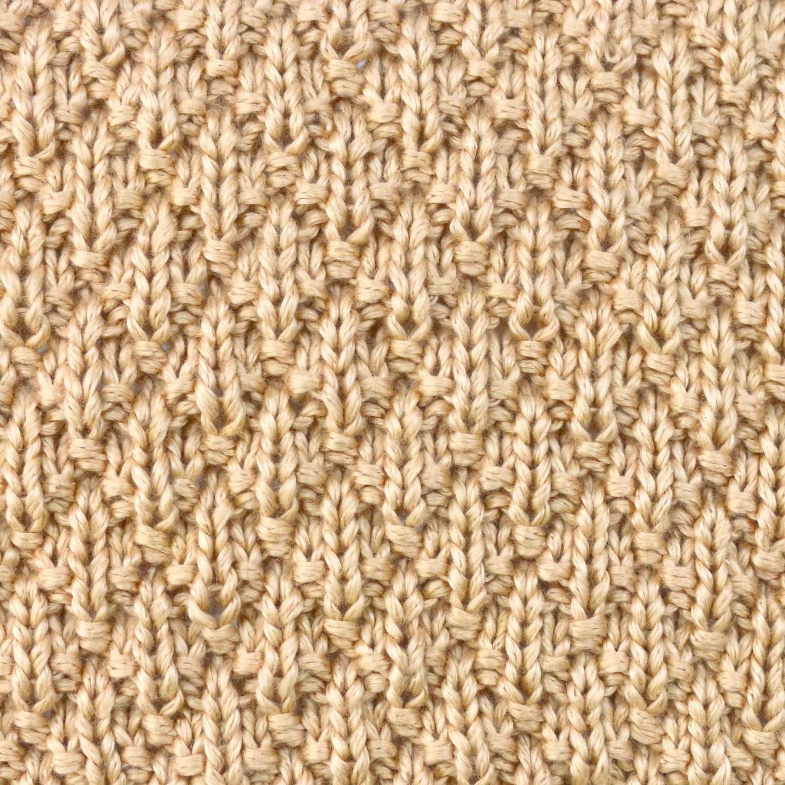 diamonds relieve stitch knitting free pattern patron gratis diamantes rombos relieve manta bebe